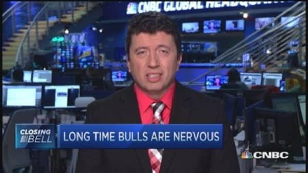 Long-time bulls nervous