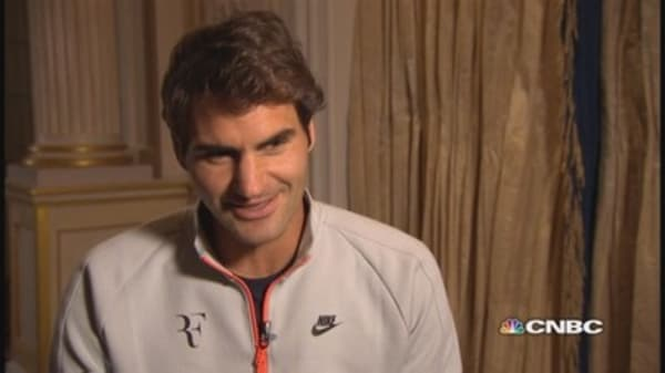 Federer talks wearables, Apple Watch