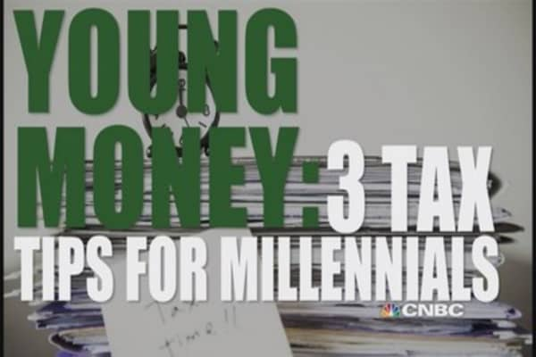 3 tax tips for millennials
