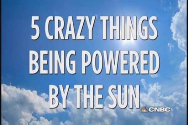 5 crazy things powered by the sun