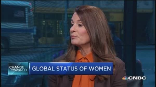 Melinda Gates: Global status of women