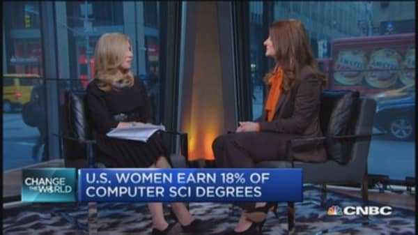 Melinda Gates: Tackling gender wage gap