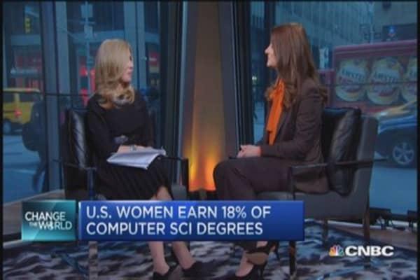 Melinda Gates: Tackling gender wage gap