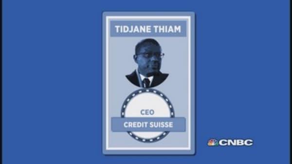 Who is Tidjane Thiam?