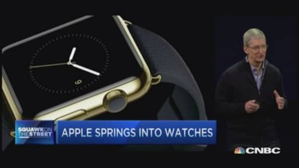 Hargreaves reacts to Apple Watch