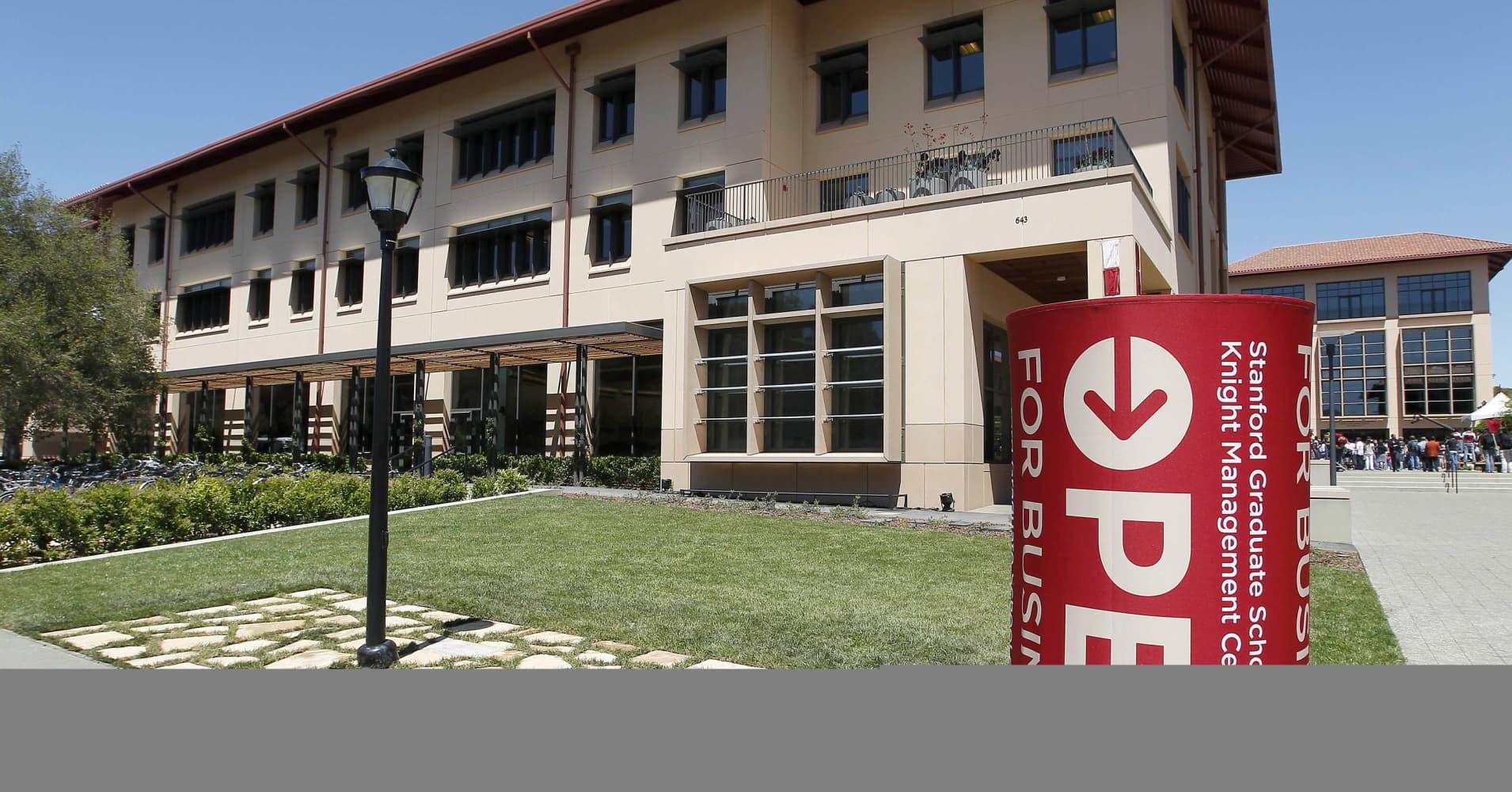 The Stanford Graduate School of Business in Palo Alto, California.