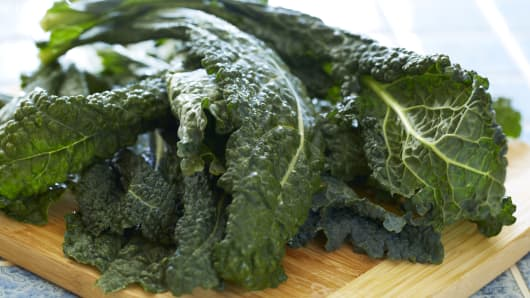 Kale, the new fast food.
