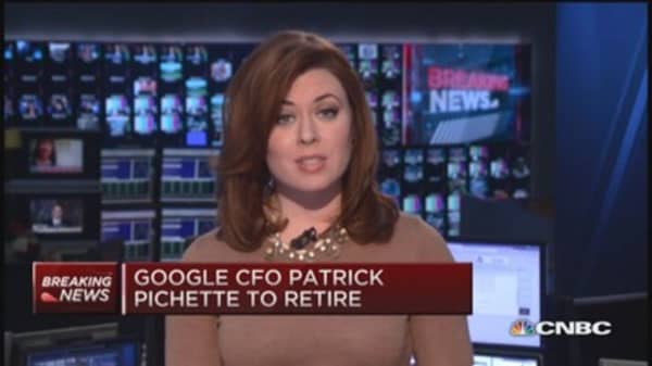 Google CFO to retire
