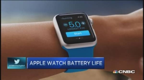 Will customers tolerate Apple Watch battery?