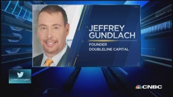 Gundlach: Don't short dollar