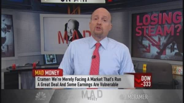 Cramer: Normal correction, I'm not shouting fire