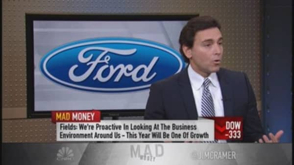 Ford CEO: Year of growth