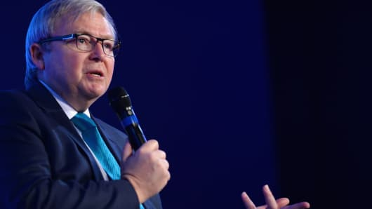 Former Prime Minister to the Commonwealth of Australia and President of the Asia Society Policy Institute Kevin Rudd