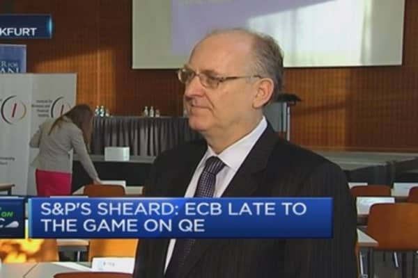 ECB late to the game on QE: Pro