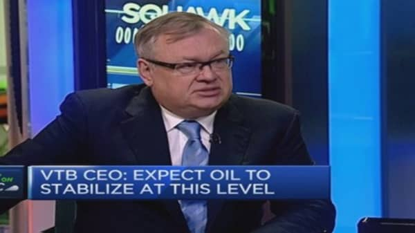 Russia business conditions better than 2008: VTB CEO