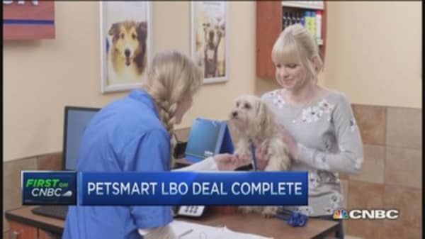 PetSmart goes private