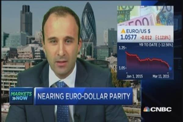 Beyond euro-dollar parity