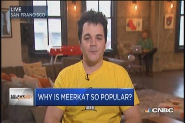 Twitter overrun by 'Meerkats'