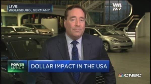 Auto sales & the falling euro