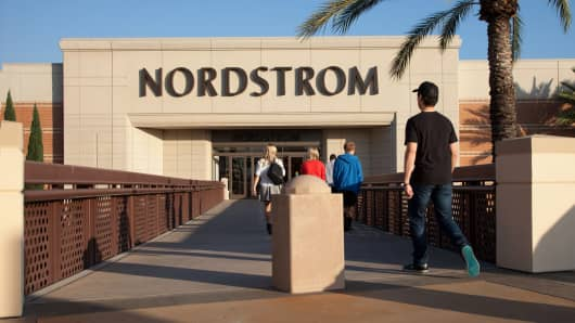 A Nordstrom store in Irvine, California
