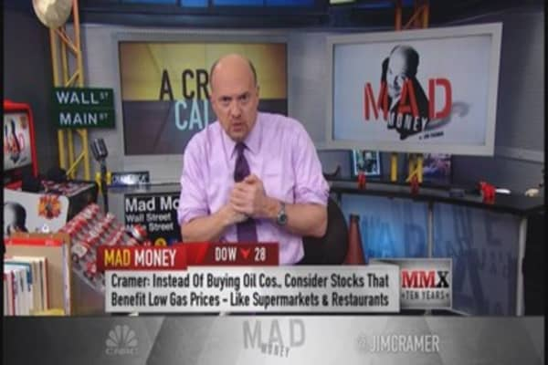 A crude call? Cramer talks oil 'collapse'