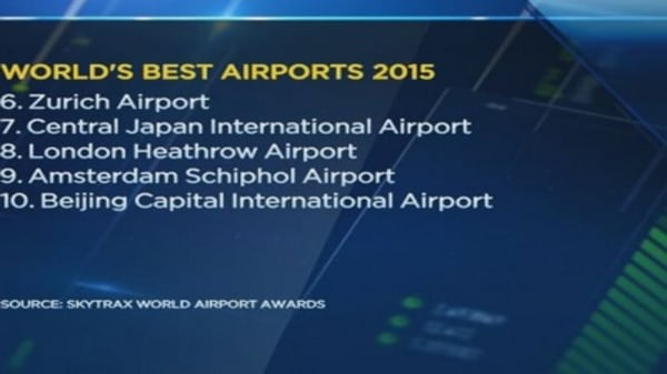 And the best airport award goes to...