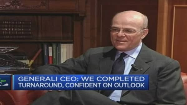 We've cleaned up the books: Generali CEO