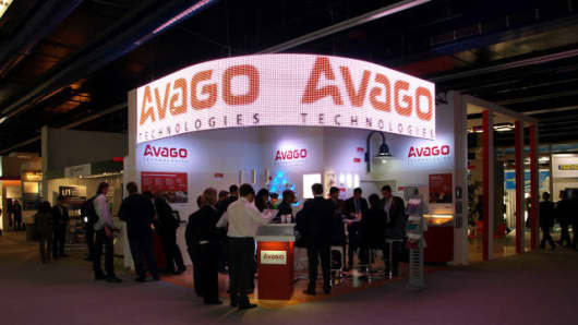 Avago Technologies trade show display