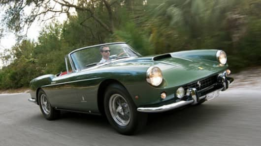 A 1960 Ferrari 400 Superamerica Cabriolet is estimated to sell for up to $7M at auction this weekend.