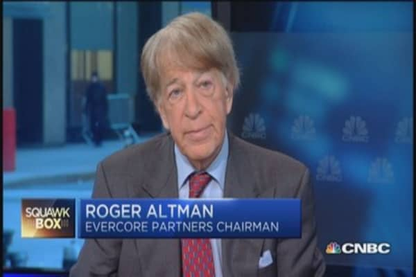 EU off the bottom, expect slow recovery: Roger Altman