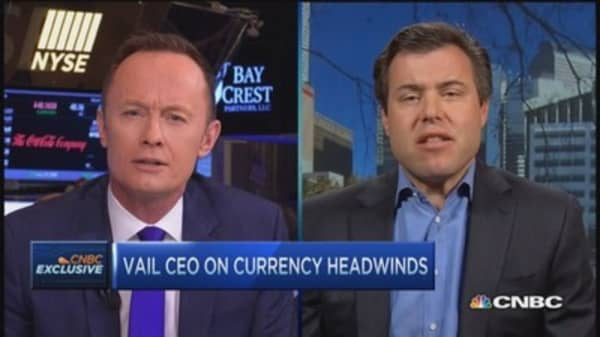 Vail Resorts CEO on earnings