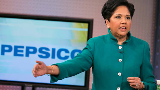 Indra Nooyi, CEO of PepsiCo.