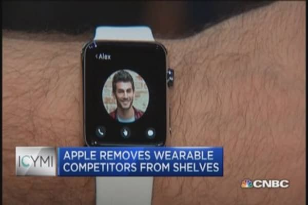 ICYMI: Apple removes wearables from shelves