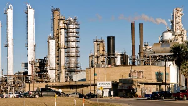 Valero Energy refinery