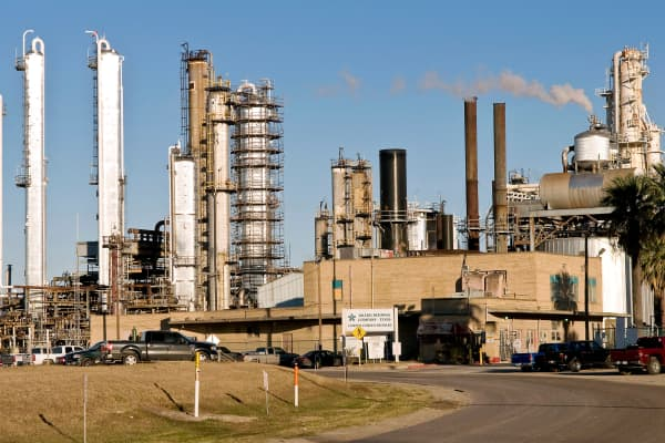 Valero Energy refinery