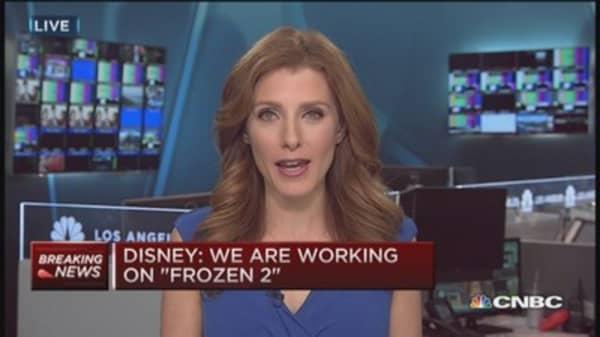 Disney working on 'Frozen 2'