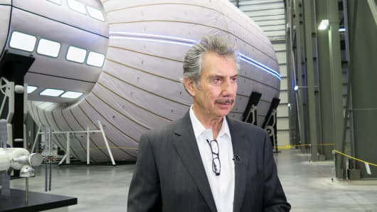 Robert Bigelow, founder of Bigelow Aerospace.