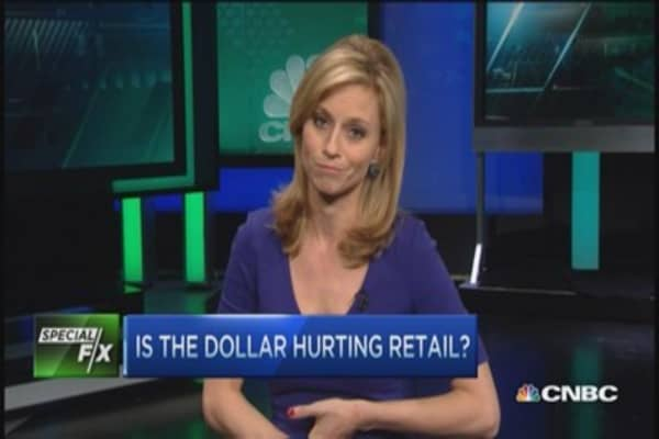 Strong dollar impact on retailers
