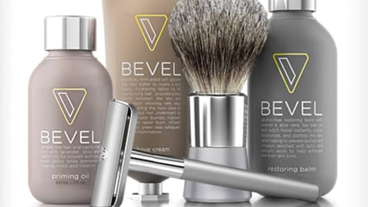 Bevel shaving products