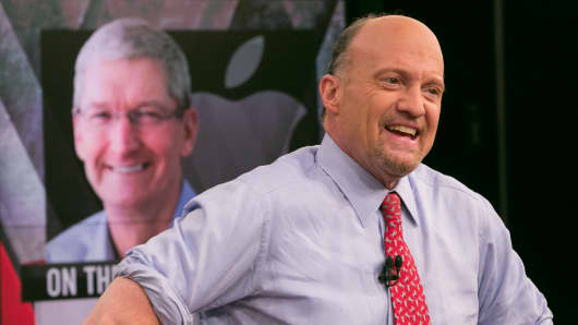 Jim Cramer speaks with Apple Inc. CEO Tim Cook on the 10th Anniversary of Mad Money.