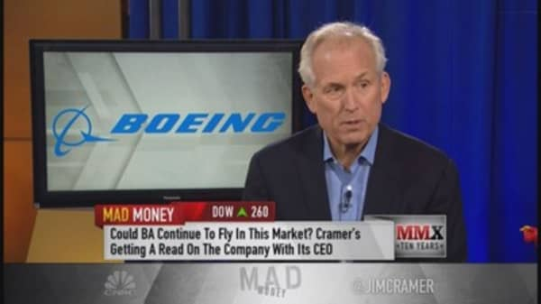 Boeing CEO: Like commercial side growth