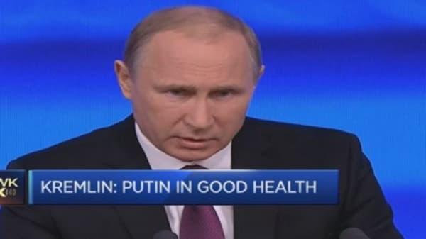Where has President Putin gone?