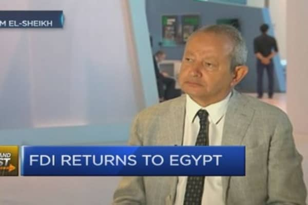 Egypt on the verge of 'economic boom:' CEO