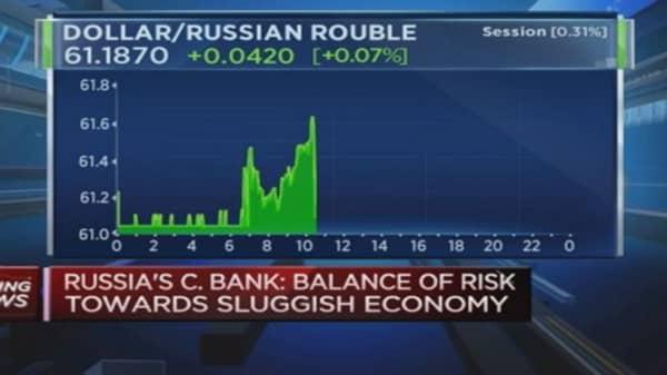 Russia cuts key interest rate to 14 percent