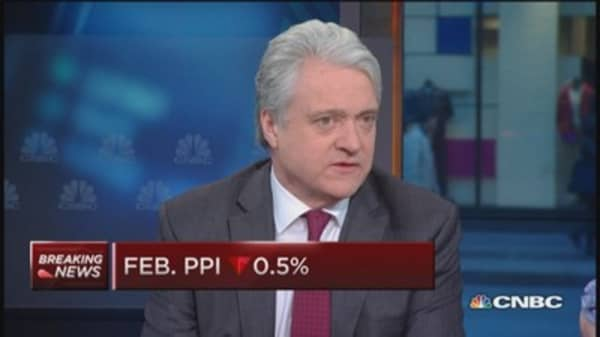 PPI one negative after another: Liesman