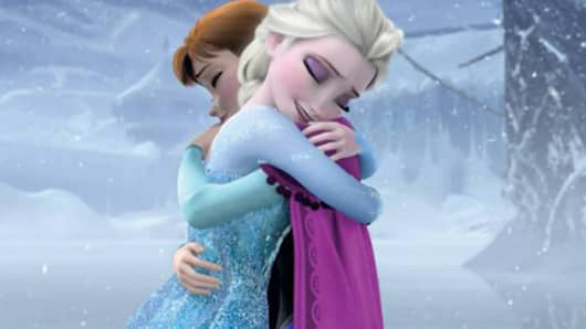 "A still from Disney's movie ""Frozen."""