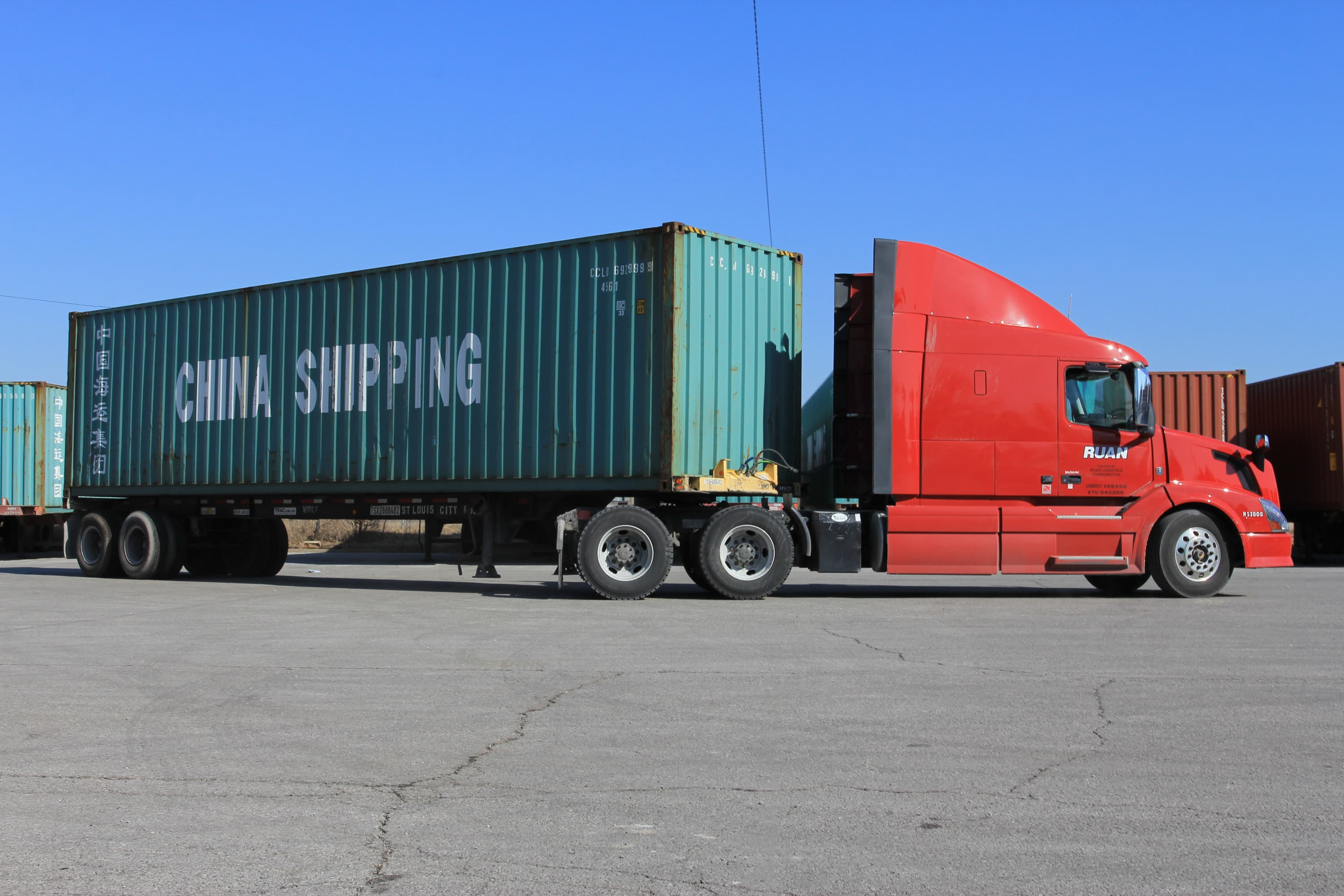 Investing in transports intermodal part of freight business is flourishing