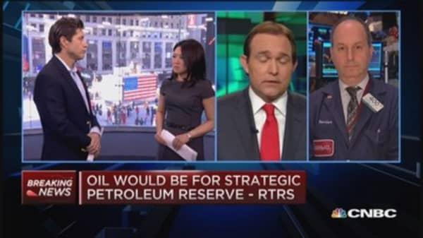 DOE to pump up strategic reserve: Report