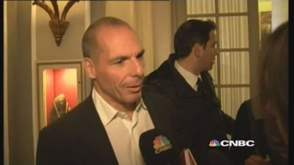 Greece's Varoufakis: I try not to be a liability