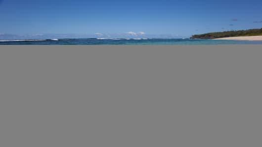Beach of Port Resolution, Tanna Island, Vanuatu.